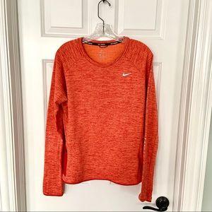 Nike Run Dri-Fit• Like New• Orange, size Large